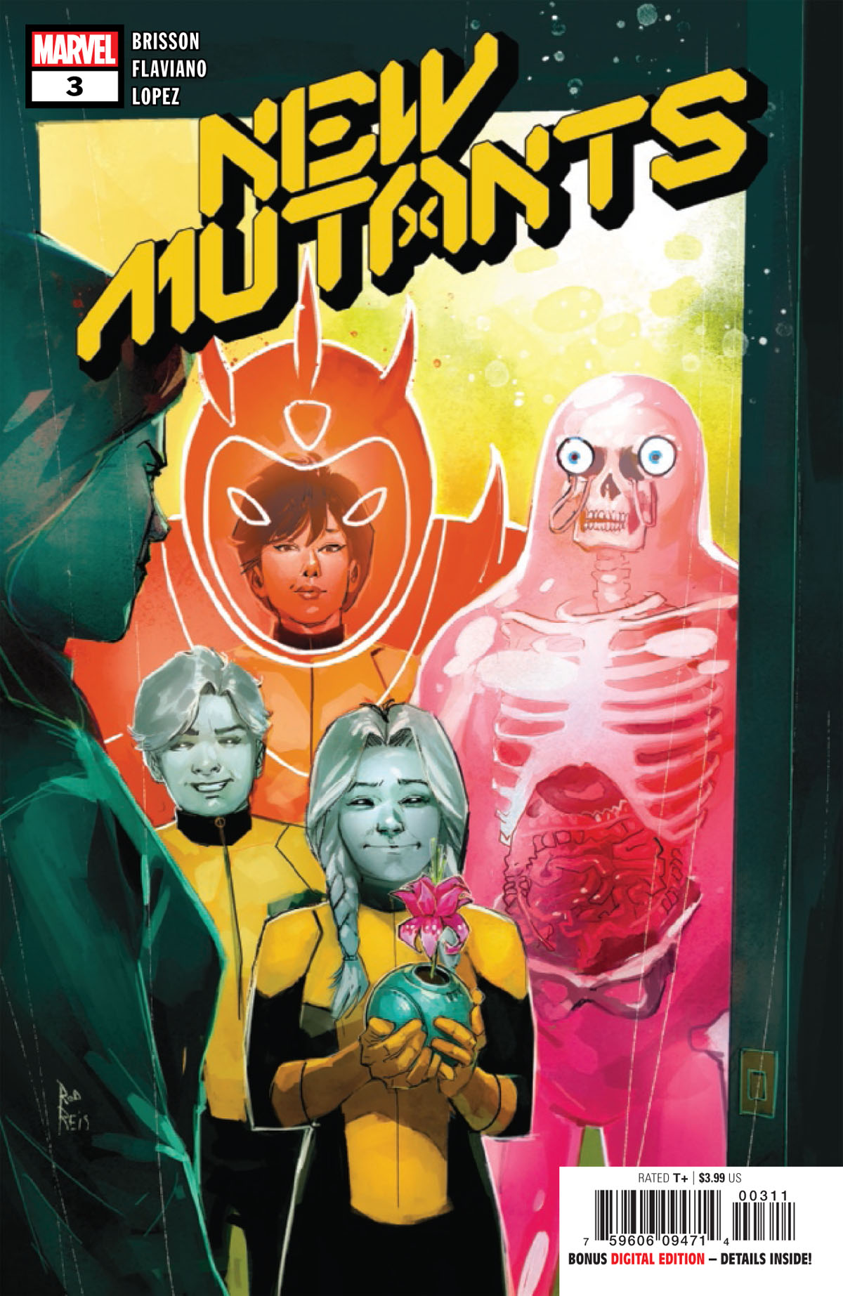 New Mutants #3 cover