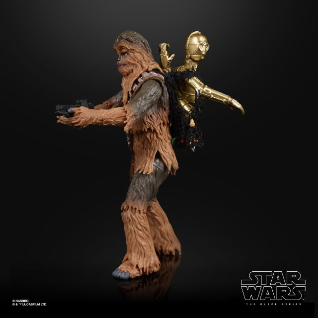 Chewbacca and 3PO