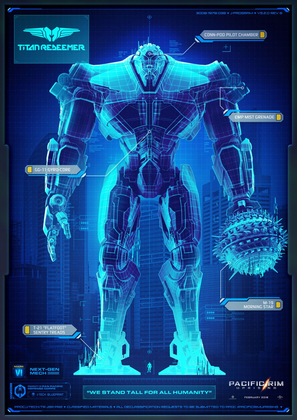 The biggest gripe I have with Pacific Rim: Uprising isn't ... Pacific Rim Blueprints