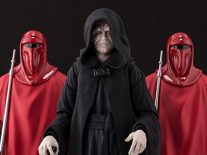 Palpatine and guards