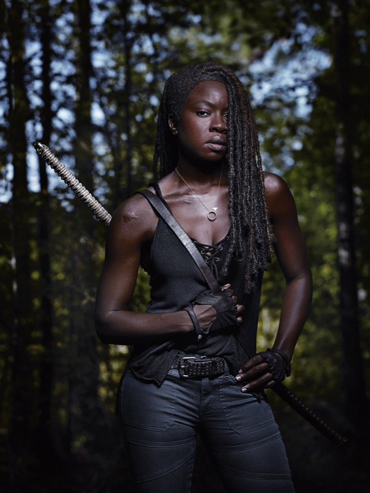 Danai Gurira as Michonne - The Walking Dead _ Season 9, Gallery - Photo Credit: Michael Muller/AMC