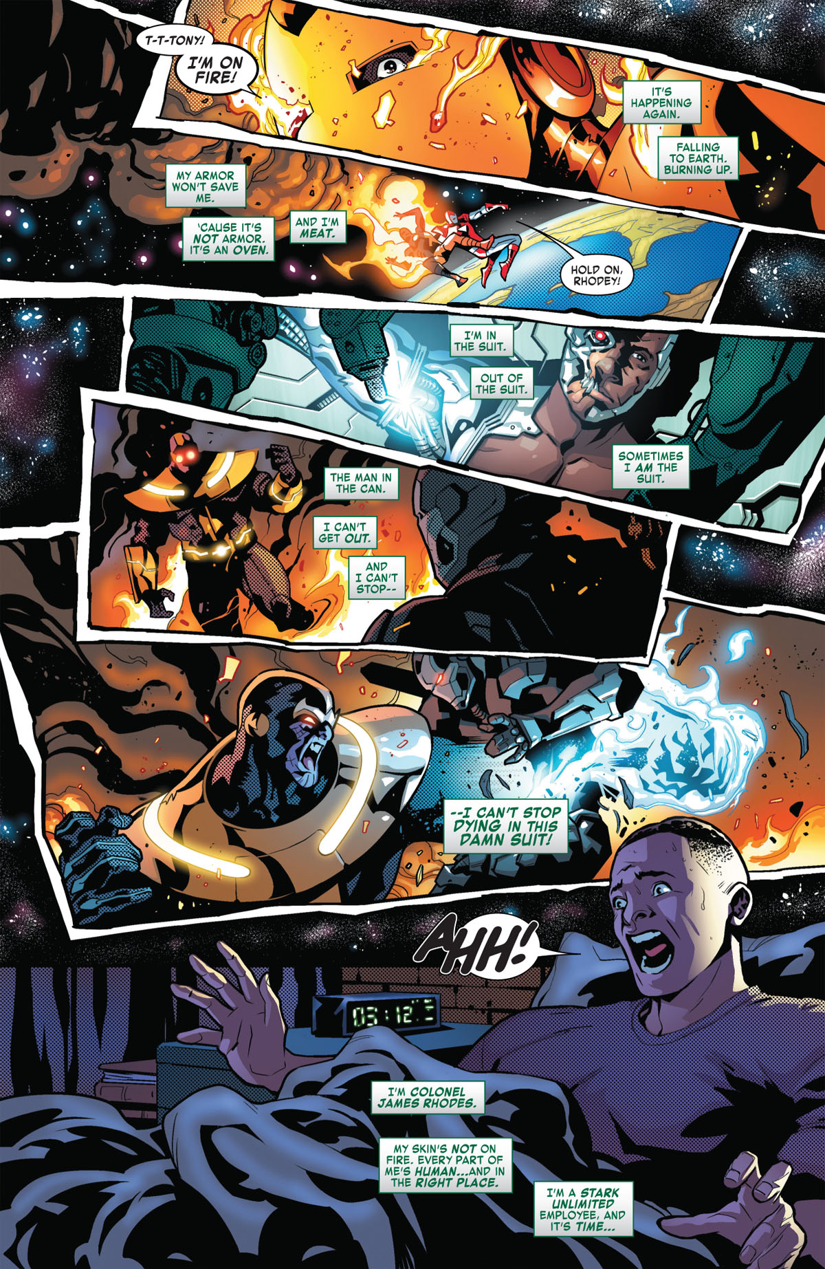 Tony Stark: Iron Man #2 page 1