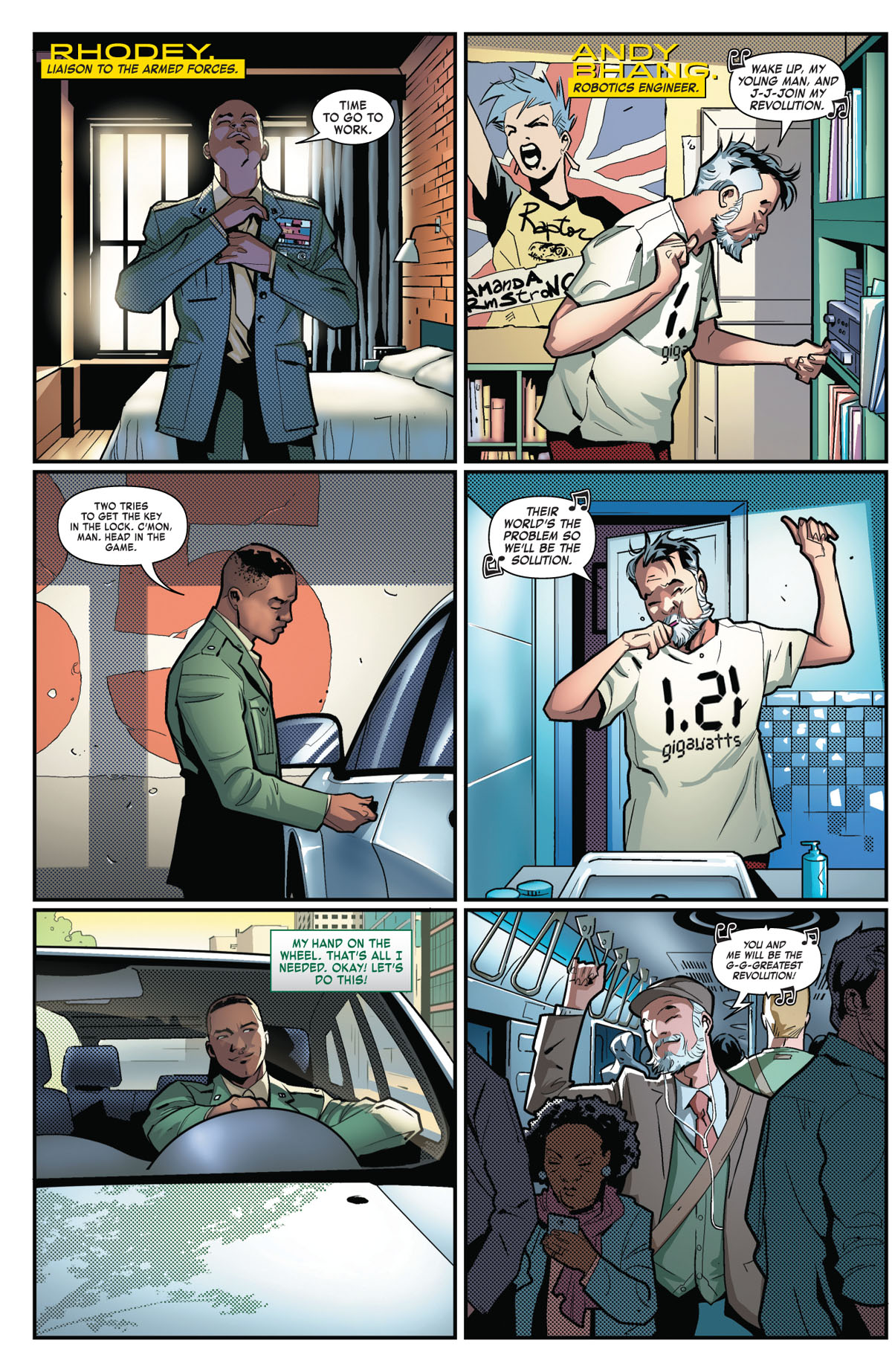 Tony Stark: Iron Man #2 page 2