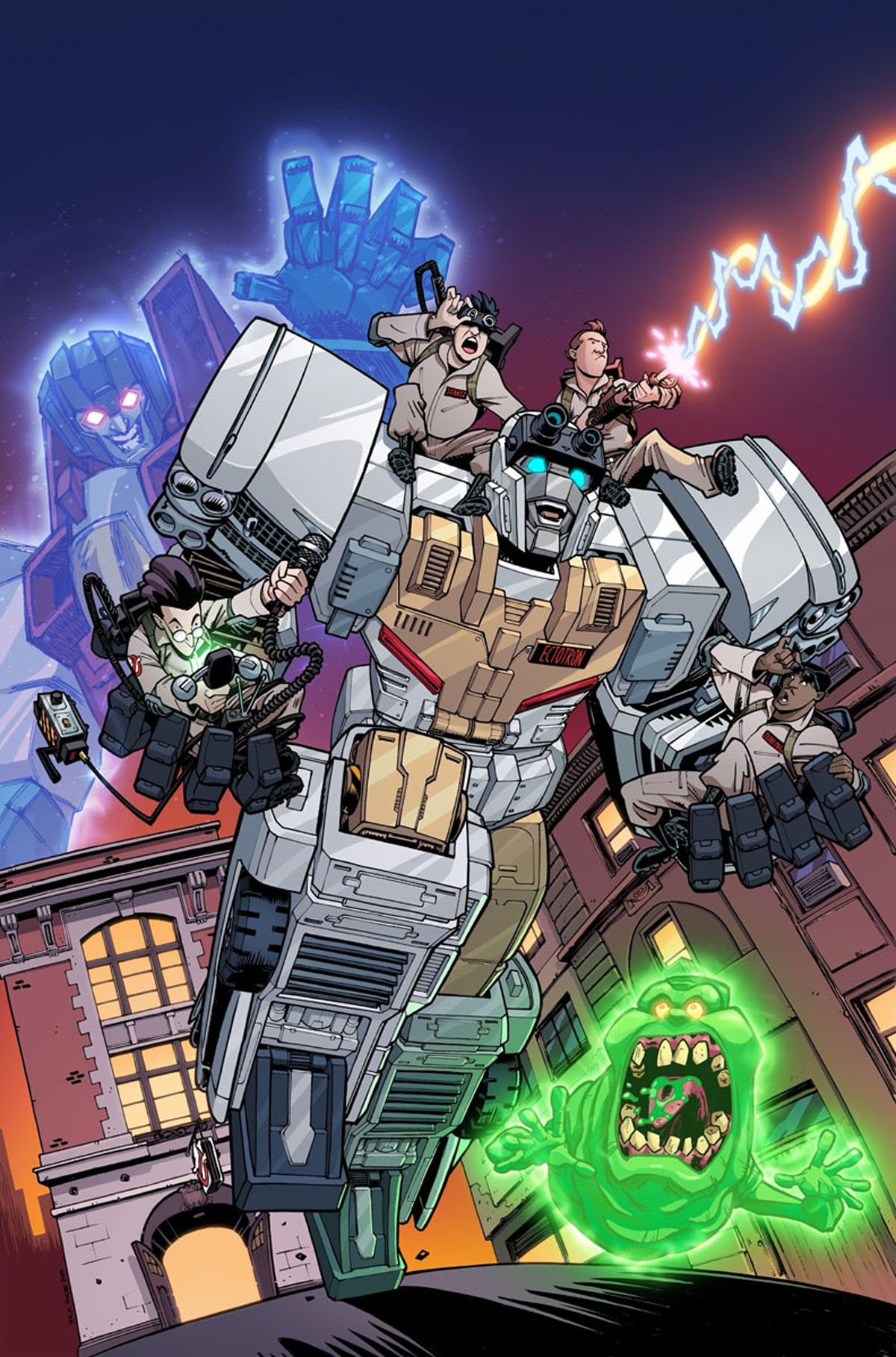 Transformers/Ghostbusters #1 variant cover