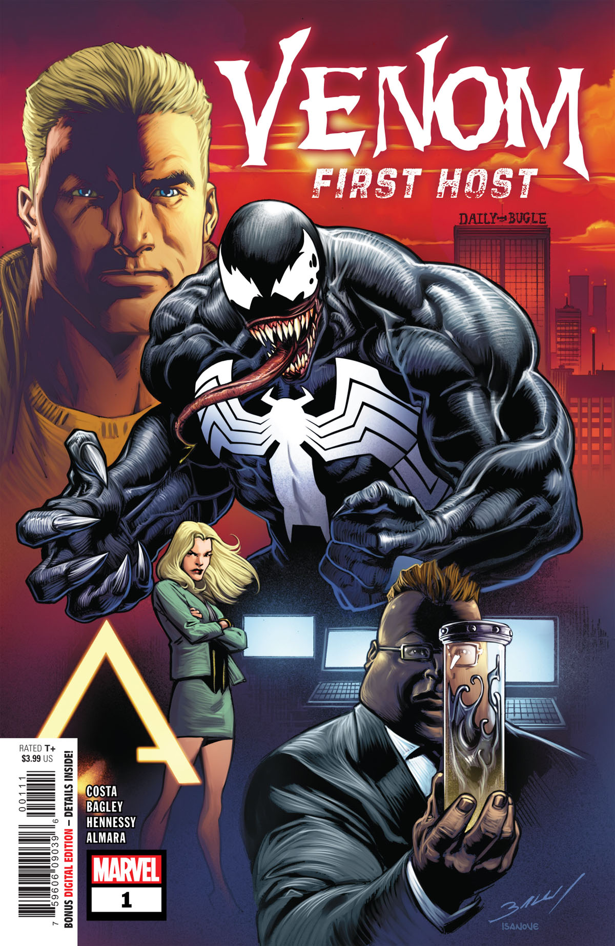 Venom: First Host #1 cover
