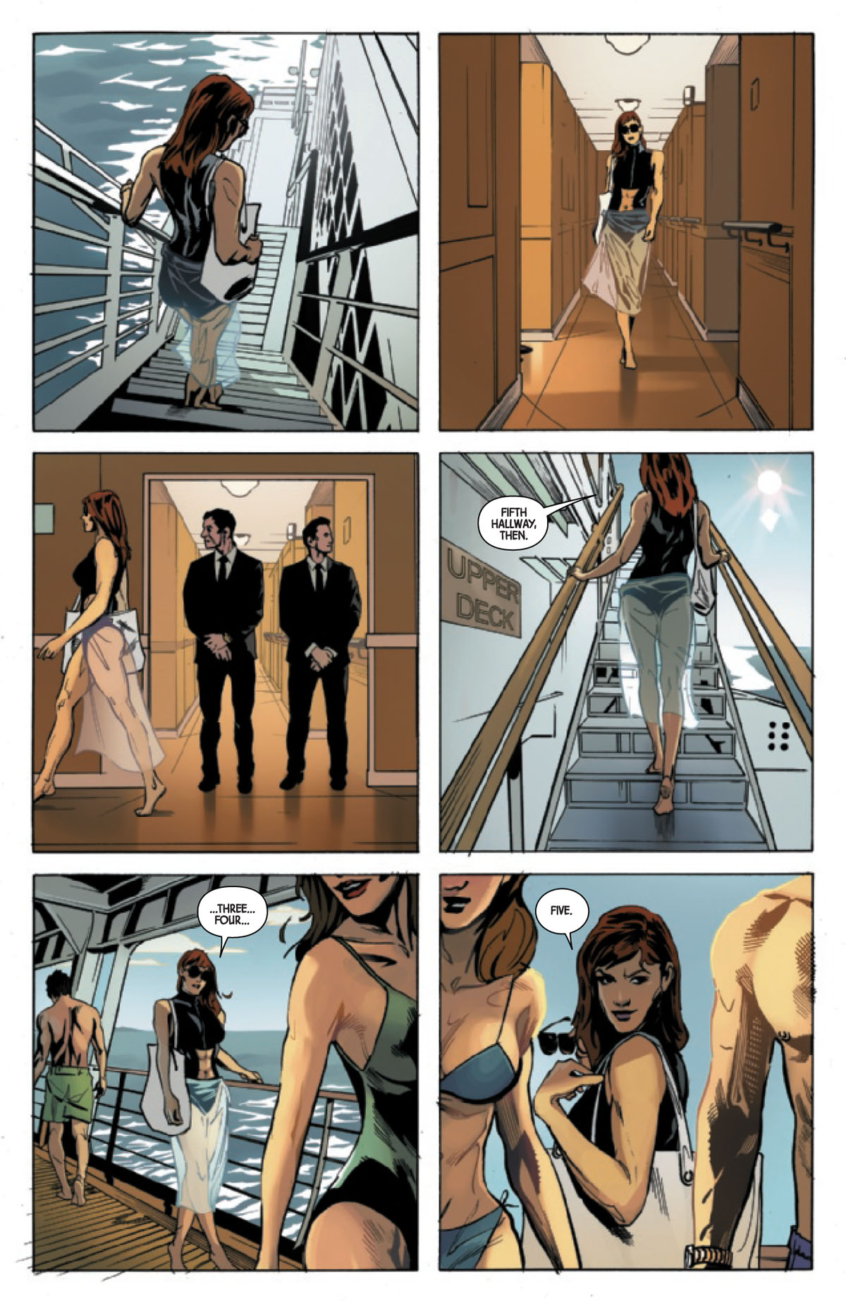 Web of Black Widow #2 page 4