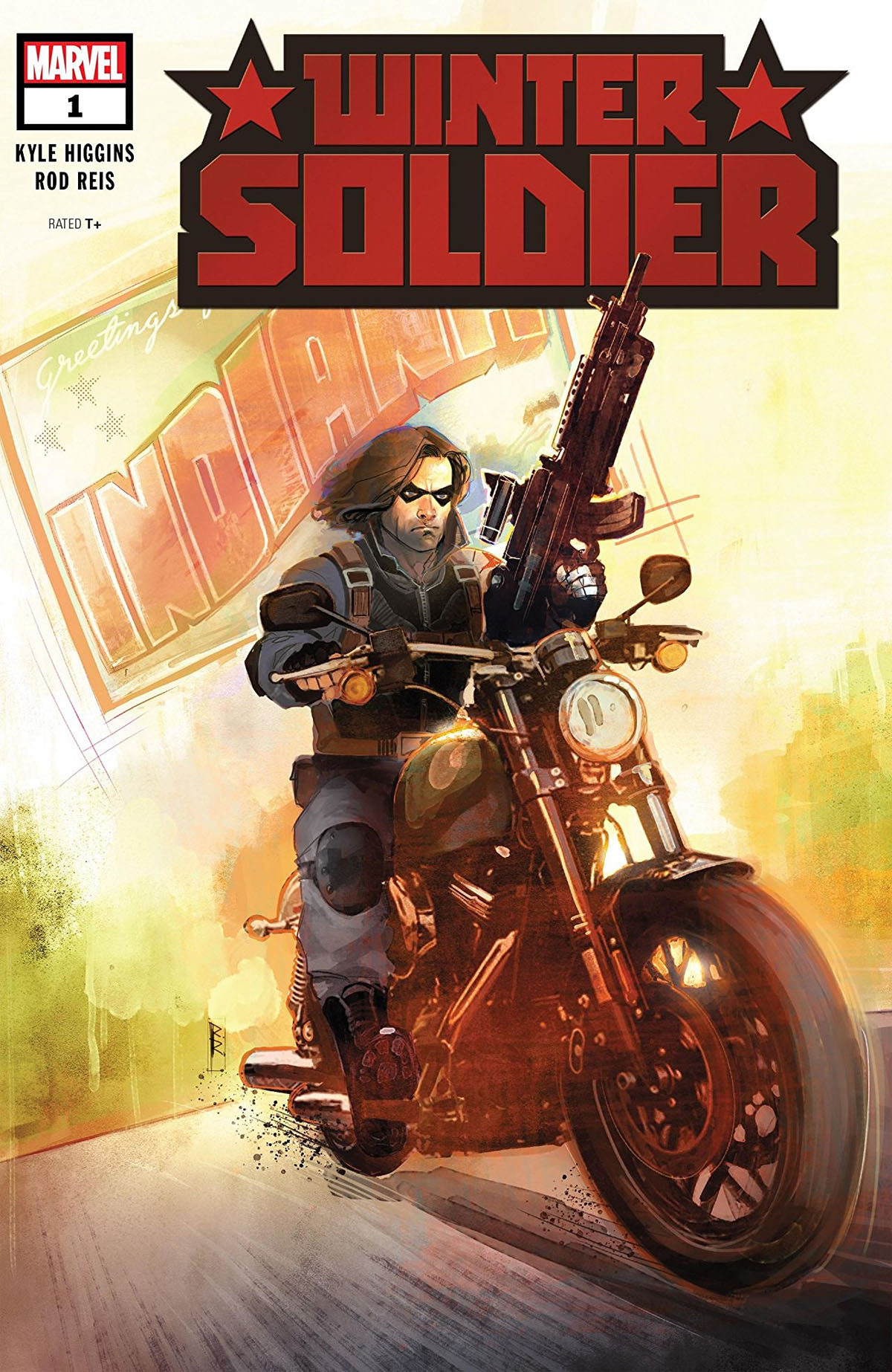 Winter Soldier #1 cover