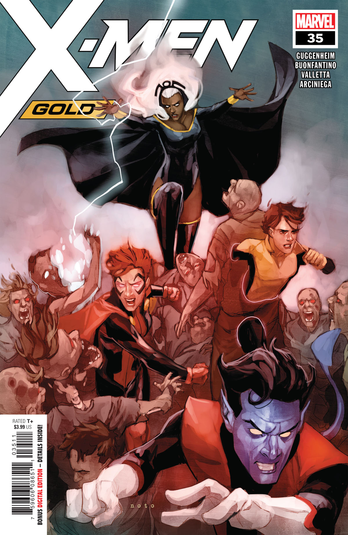X-Men Gold #35 cover