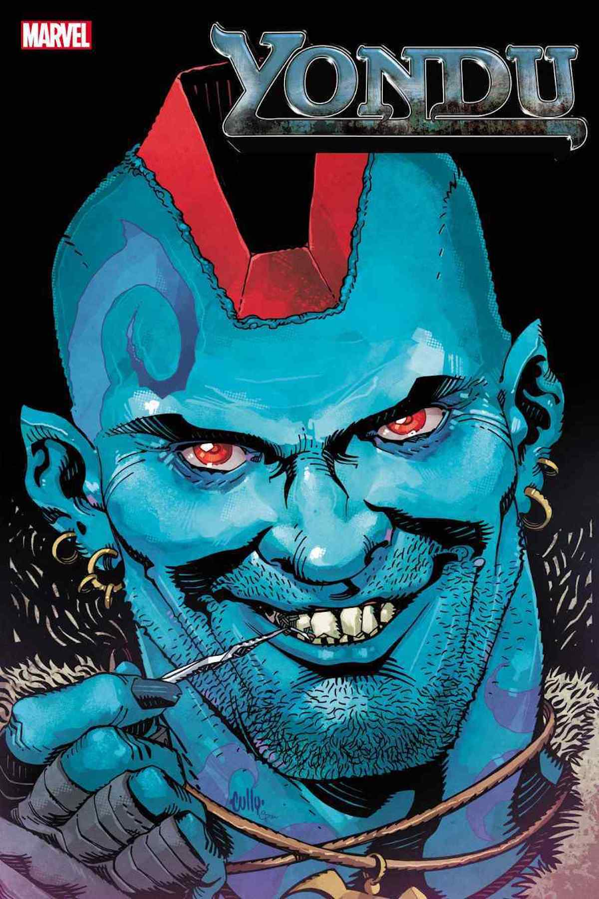 Yondu, Title Page (Look at that grin!)